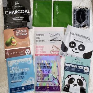 Sephora Makeup - 10 sheet masks : sephora creme shop sooae naruko
